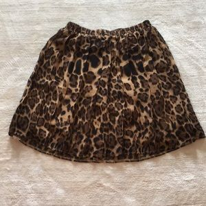 Leopard print skirt by Annabella Barely Worn
